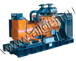 Дизель электростанция CTM I.380 мощностью 422 кВА (338 кВт) на раме