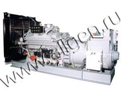 Дизельный генератор CTM M.580 (510 кВт)