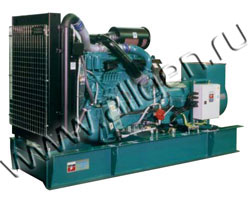Дизель электростанция CTM V.375 мощностью 413 кВА (330 кВт) на раме