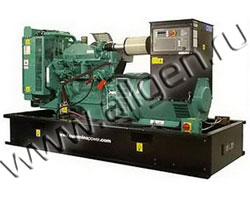Дизель электростанция Cummins C150 D5 мощностью 150 кВА (120 кВт) на раме