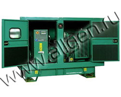 Дизель генератор Cummins C33 D5 мощностью 33 кВА (26 кВт) в шумозащитном кожухе