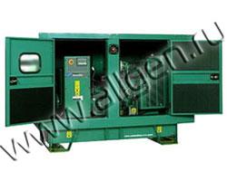 Дизель генератор Cummins C38 D5 мощностью 38 кВА (30 кВт) в шумозащитном кожухе