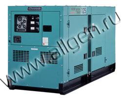Дизель генератор Denyo DCA-125SPK3  мощностью 110 кВА (88 кВт) в шумозащитном кожухе