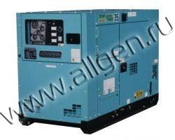 Дизельный генератор Denyo DCA-13LSK мощностью 9 кВт