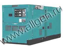 Дизельный генератор Denyo DCA-150ESK  мощностью 110.4 кВт б/у (с наработкой)