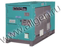 Дизельный генератор Denyo DCA-15LSK мощностью 11 кВт
