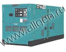 Дизель генератор Denyo DCA-180SPK3 мощностью 150 кВА (120 кВт) в шумозащитном кожухе