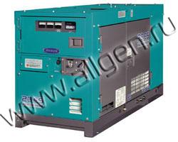 Дизельный генератор Denyo DCA-20LSK  мощностью 15 кВт