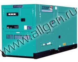 Дизельный генератор Denyo DCA-220SPK3  (220 кВА)