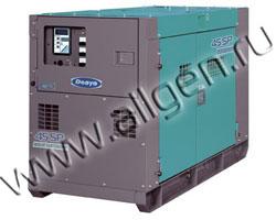 Дизельный генератор Denyo DCA-45ESI  мощностью 31.1 кВт б/у (с наработкой)