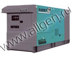 Дизельный генератор Denyo DCA-500SPK  (396 кВт)