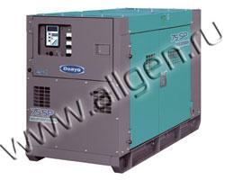 Дизельный генератор Denyo DCA-75SPI  (Япония) мощностью 68 кВА (55 кВт) с наработкой (б/у)