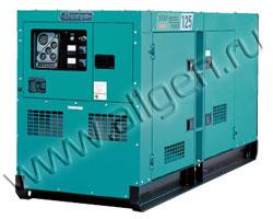 Дизель генератор Denyo DCA-125ESM мощностью 110 кВА (88 кВт) в шумозащитном кожухе