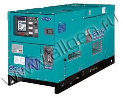 Дизельный генератор Denyo DCA-25ESI мощностью 18 кВт