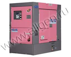 Дизель генератор Denyo DCA-45USI2 мощностью 41 кВА (33 кВт) в шумозащитном кожухе