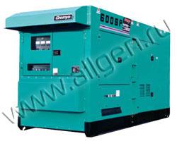 Дизельный генератор Denyo DCA-600SPV (484 кВт)