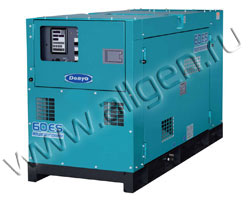 Дизельный генератор Denyo DCA-60ESH (44 кВт)