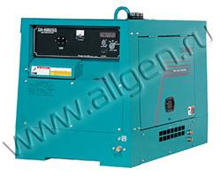 Дизельный генератор Denyo DA-6000SS мощностью 5 кВт