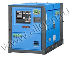 Дизельный генератор Denyo DCA-25USI3 мощностью 18 кВт