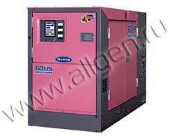 Дизельный генератор Denyo DCA-60USI (44 кВт)