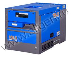 Дизельный генератор Denyo TLG-10LSK в шумозащитном кожухе