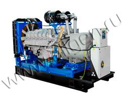 Дизель электростанция Дизель АД-315 ТМЗ LS мощностью 433 кВА (346 кВт) на раме