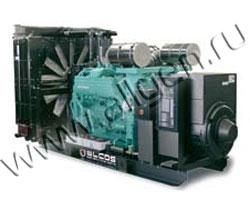 Дизель генератор Elcos GE.MT.3000/2800 BF мощностью 3080 кВА (2464 кВт) на раме