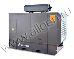 Дизель генератор Elcos GE.PK.110\100.LT мощностью 110 кВА (88 кВт) в шумозащитном кожухе