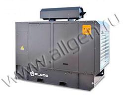 Дизель генератор Elcos GE.PK.151\137.LT мощностью 150 кВА (120 кВт) в шумозащитном кожухе