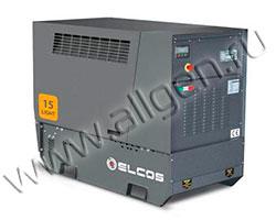 Дизельный генератор Elcos GE.PK.017\015.LT мощностью 14 кВт