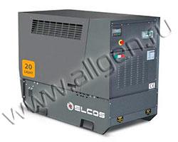 Дизельный генератор Elcos GE.PK.021\020.LT мощностью 17 кВт