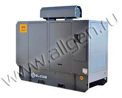Дизель генератор Elcos GE.PK.088\080.LT мощностью 88 кВА (70 кВт) в шумозащитном кожухе