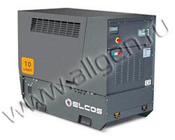 Дизельный генератор Elcos GE.YA.011\010.LT мощностью 9 кВт