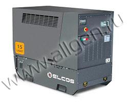 Дизельный генератор Elcos GE.YA.017\015.LT мощностью 14 кВт