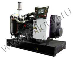 Дизель электростанция Электроагрегат АД80-Т400-1Р-D мощностью 110 кВА (88 кВт) на раме