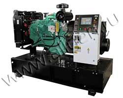 Дизель электростанция Электроагрегат АД110-Т400-1Р-C мощностью 150 кВА (120 кВт) на раме