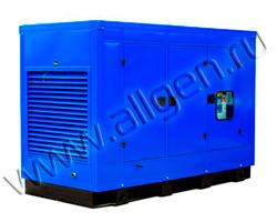 Дизель генератор Электроагрегат АД360-Т400-1Р-C мощностью 495 кВА (396 кВт) в шумозащитном кожухе