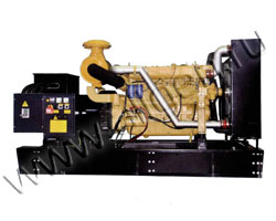 Дизель электростанция EMSA ESW 200 мощностью 200 кВА (160 кВт) на раме