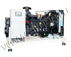 Дизель электростанция EuroEnergy EAG-150 мощностью 150 кВА (120 кВт) на раме