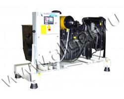 Дизель электростанция EuroEnergy EMG-105 мощностью 105 кВА (84 кВт) на раме