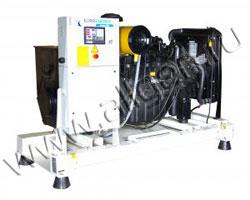 Дизельный генератор EuroEnergy EMG-8.5 на раме