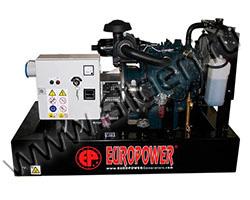 Дизельный генератор EuroPower EP103DE мощностью 8 кВт