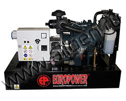 Дизельный генератор EuroPower EP133TDE мощностью 11 кВт