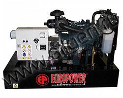 Дизельный генератор EuroPower EP163DE/EPS163DE мощностью 12 кВт