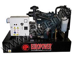 Дизельный генератор EuroPower EP193DE/EPS193DE мощностью 14 кВт