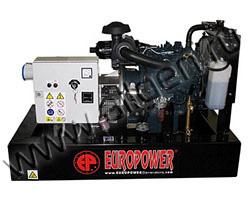 Дизельный генератор EuroPower EP73DE мощностью 5 кВт