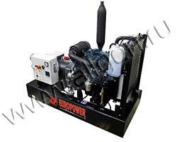 Дизельный генератор EuroPower EP83TDE на раме
