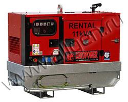 Дизельный генератор EuroPower EPSR11-3TDE мощностью 8 кВт