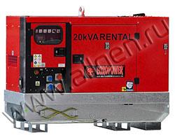 Дизельный генератор EuroPower EPSR20TDE мощностью 15 кВт