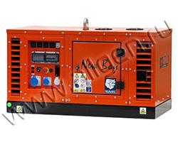 Дизельный генератор EuroPower New Boy EPS83TDE в шумозащитном кожухе